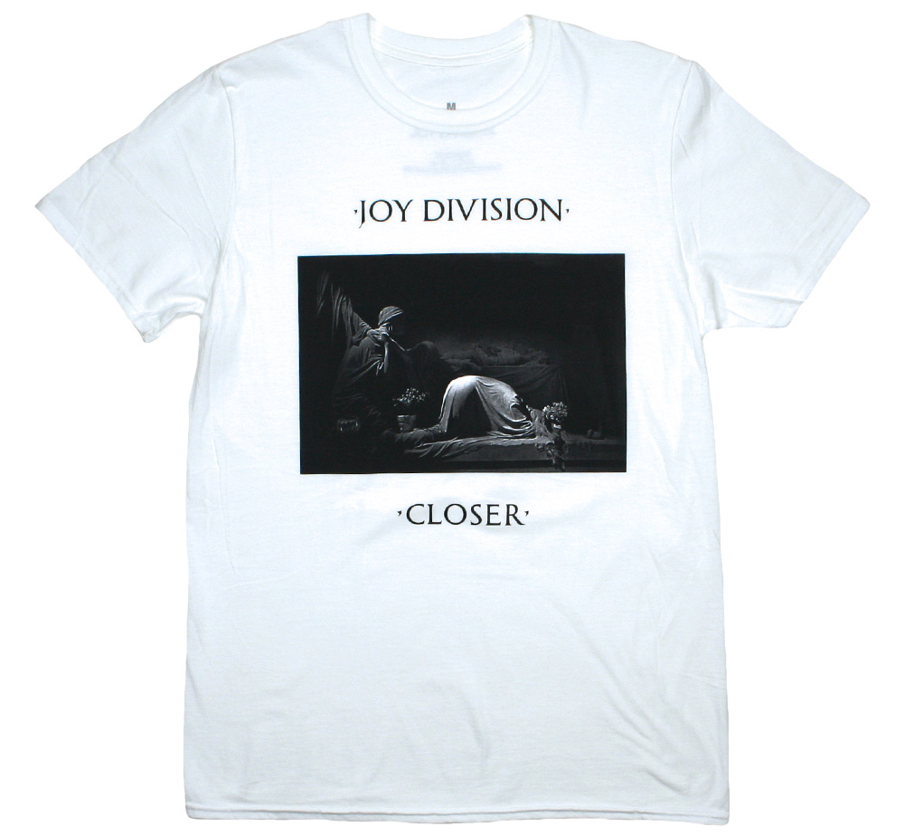 Joy Division / Closer Tee 3 (White)