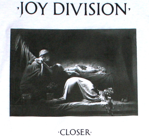 Joy Division / Closer Tee (White)