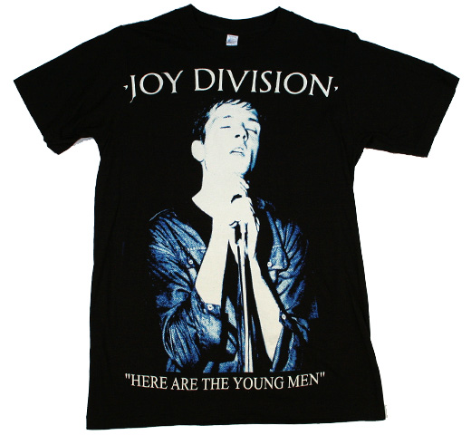 Joy Division / Here Are The Young Men Big Print Tee