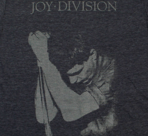 Joy Division / Ian Curtis Tee (Heather Navy)