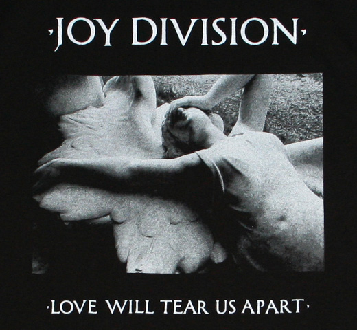 Joy Division / Love Will Tear Us Apart Tee