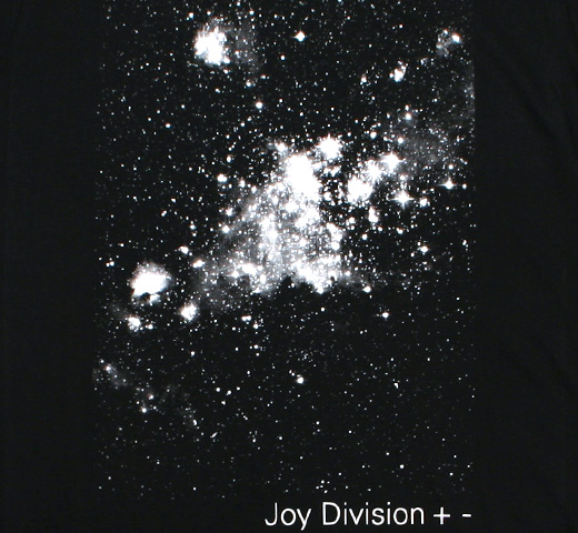 Joy Division / +- (Plus Minus) Tee (Black)