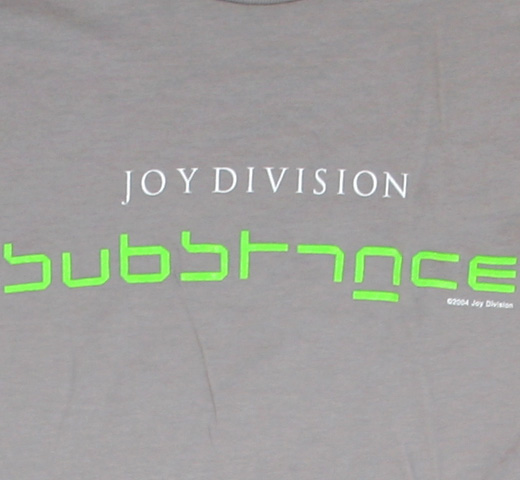 Joy Division / Substance Tee (Grey)