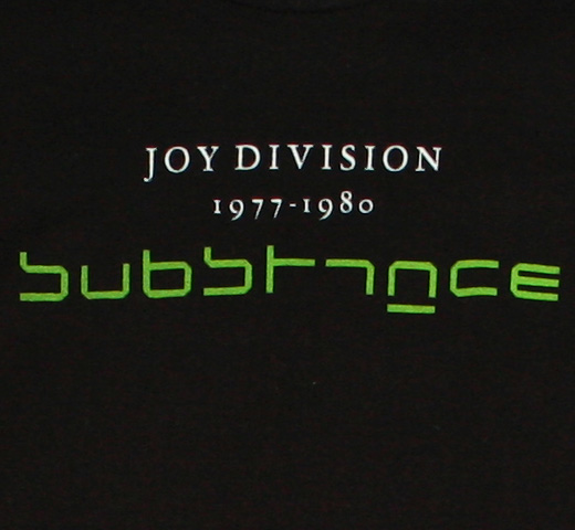 Joy Division / Substance Tee (Black)