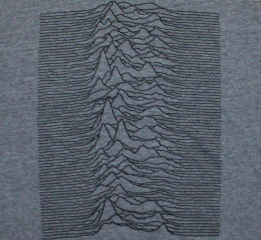 Joy Division / Unknown Pleasures Tee (Heather Grey)