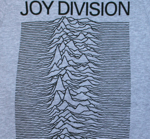 Joy Division / Unknown Pleasures Tee (Grey)