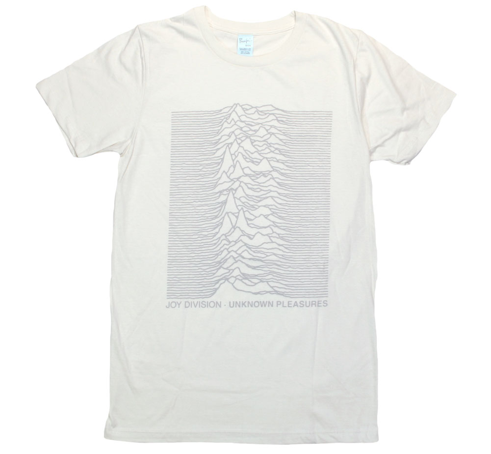 Joy Division / Unknown Pleasures Tee (Vintage White)