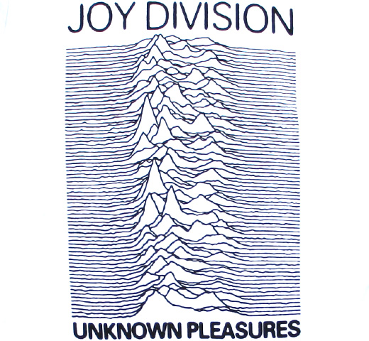 Joy Division / Unknown Pleasures Tee 3 (White)