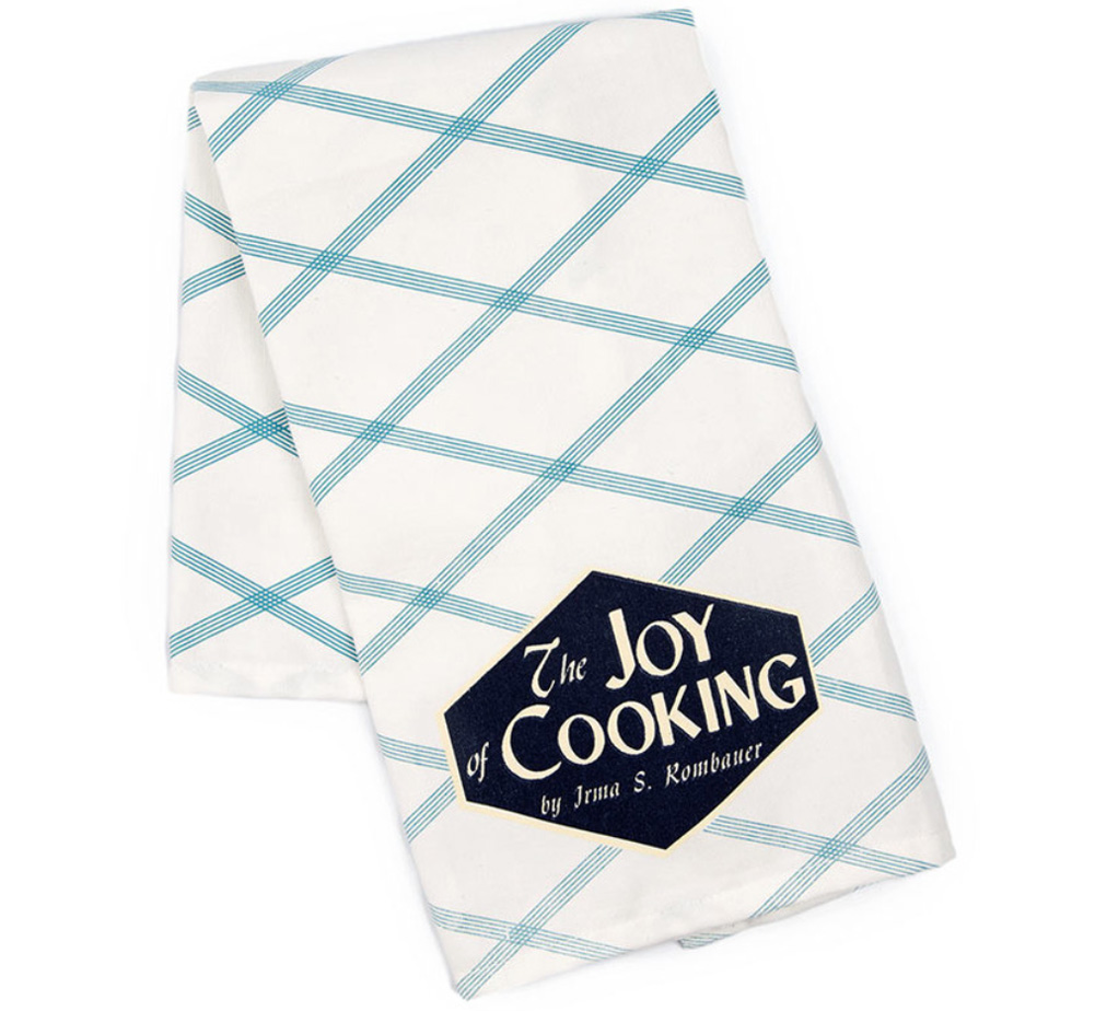 【Out of Print】 Irma S. Rombauer / The Joy of Cooking Tea Towel (White)
