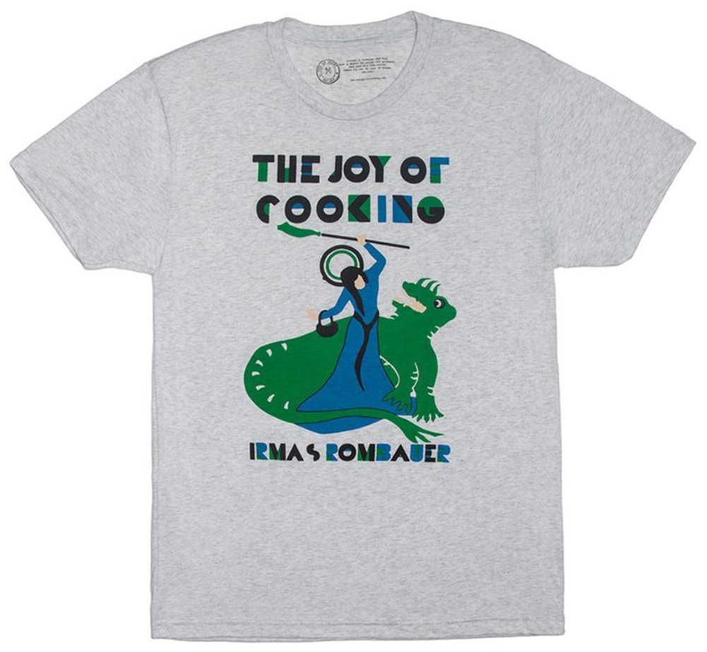 【Out of Print】 Irma S. Rombauer / The Joy of Cooking Tee (Heather White)