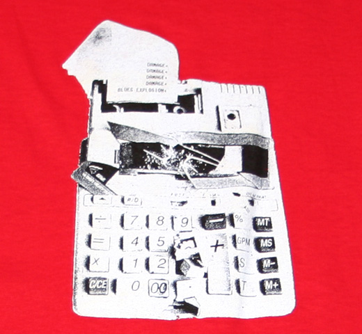 Blues Explosion / Calculator Tee
