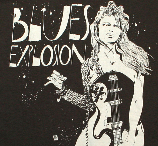 The Jon Spencer Blues Explosion / Paul Pope Tee (Charcoal)