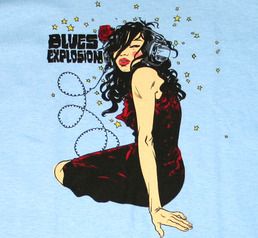 Blues Explosion / Poster Tee
