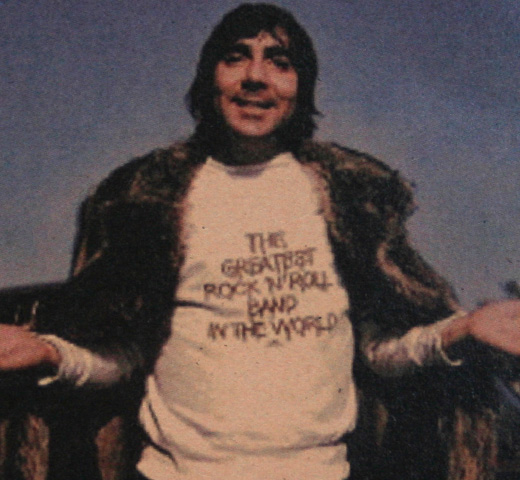 【Worn Free】 Keith Moon / Greatest Rock N Roll Band Tee (Charcoal Grey)