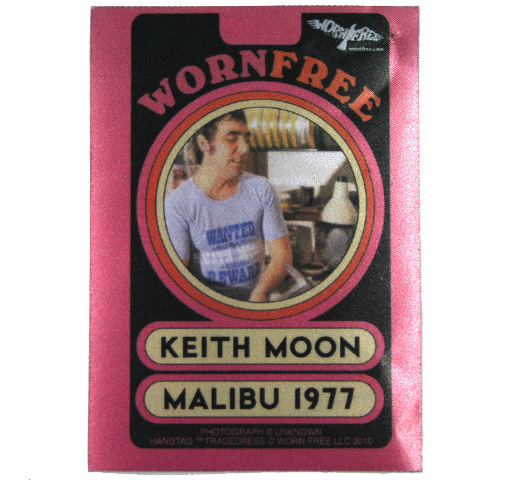 【Worn Free】 Keith Moon / Wanted Tee (Sky)