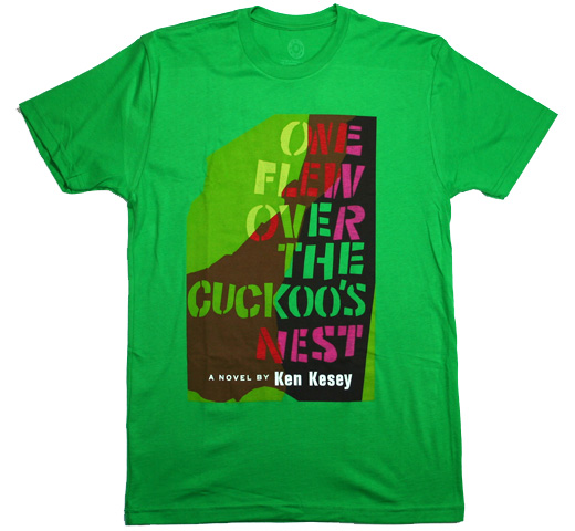 【Out of Print】 Ken Keasey / One Flew Over the Cuckoo's Nest Tee (Kelly Green)