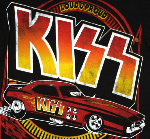 Kiss / Hotter Than Hell Tee (Black)