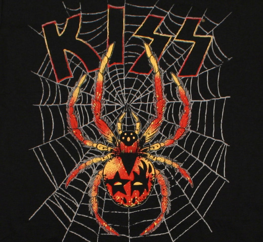 Kiss / Spider Tee (Black)