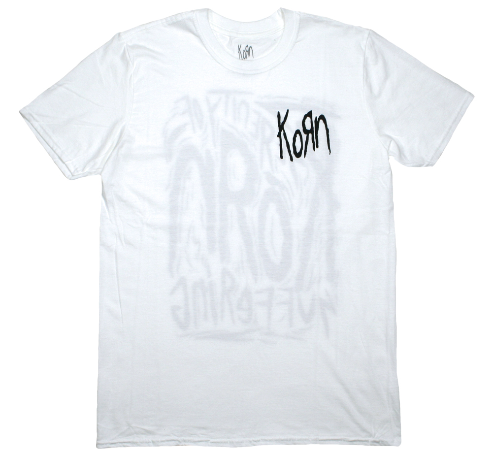 KoЯn / The Serenity of Suffering Tee (White)