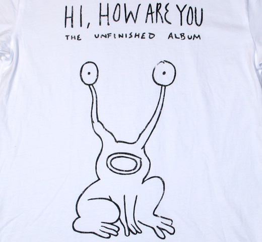 ��Worn Free�� Kurt Cobain / Hi How Are You Tee (White)