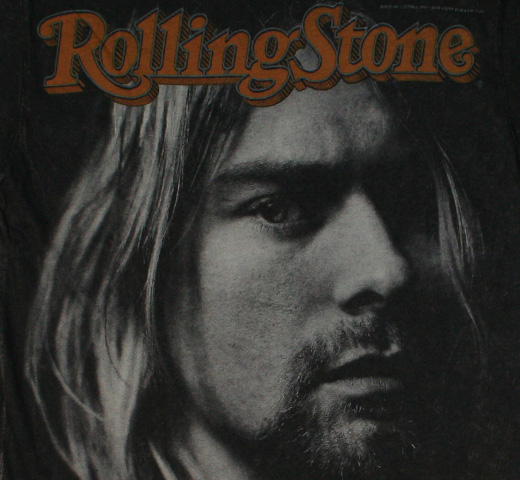 【Rolling Stone】 Kurt Cobain / Issue 683 Tee (Black)