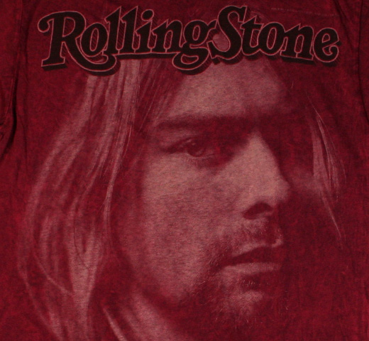 【Rolling Stone】 Kurt Cobain / Issue 683 Tee (Wine Red)