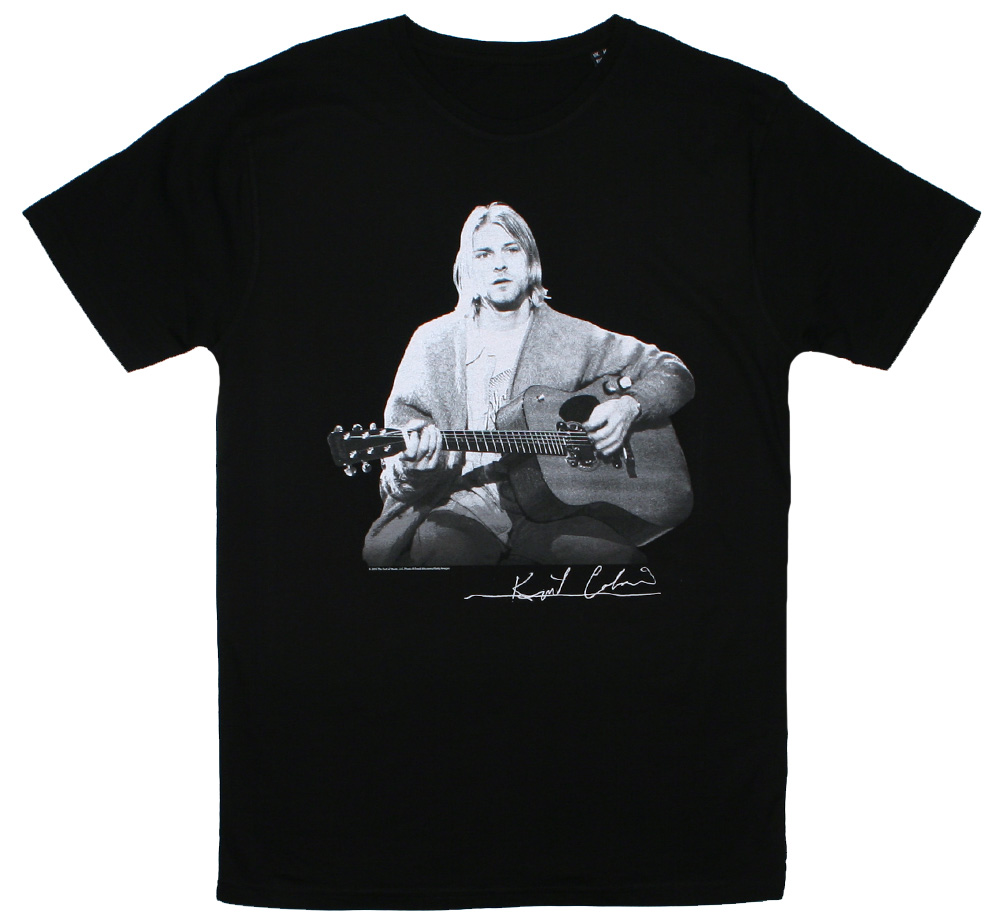 Kurt Cobain / MTV Unplugged in New York Tee (Black)