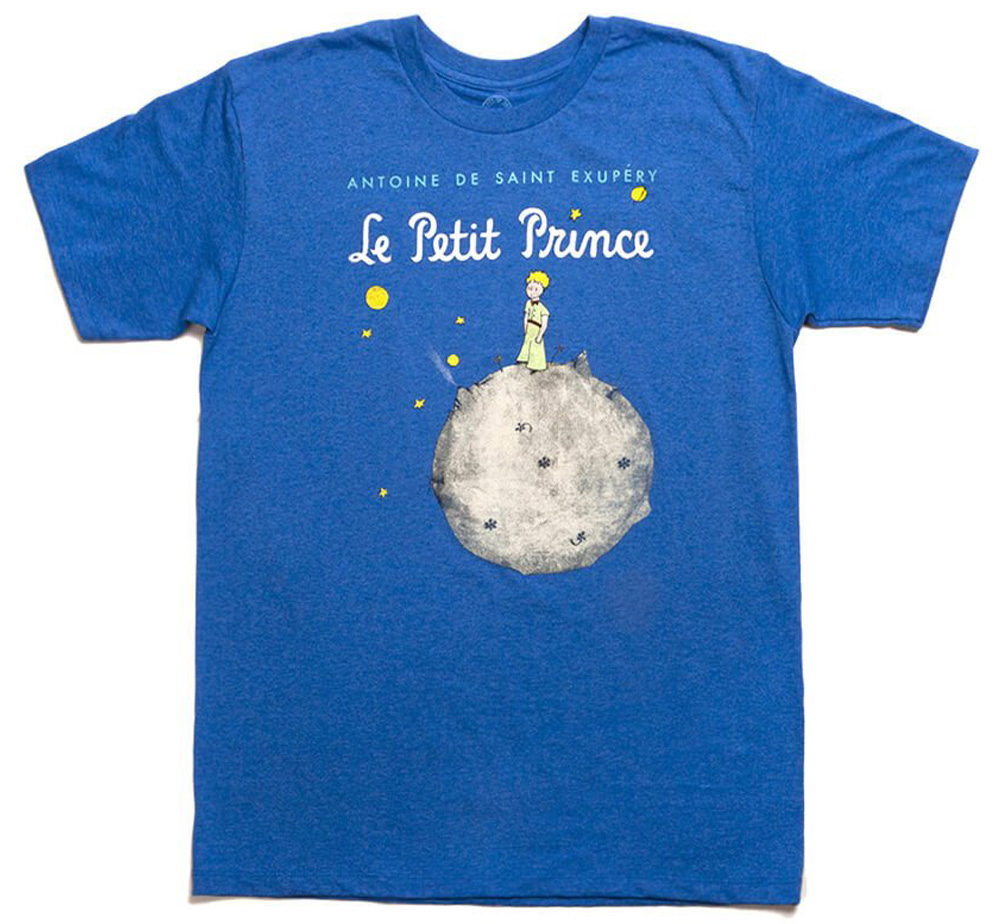 【Out of Print】 Saint-Exupéry / Le Petit Prince Tee (Heather Royal)
