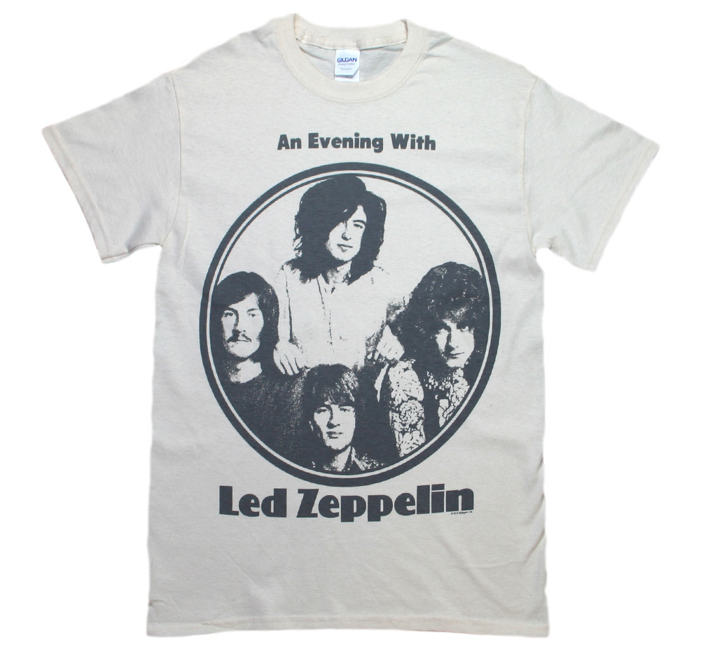 Led Zeppelin / An Everything With Tee (Vintage White)