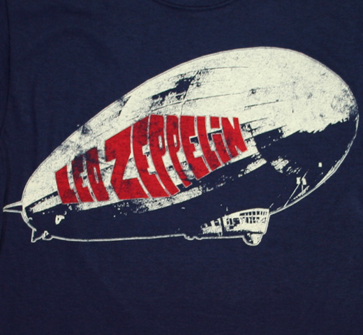 Led Zeppelin / Zeppelin Tee (Navy)