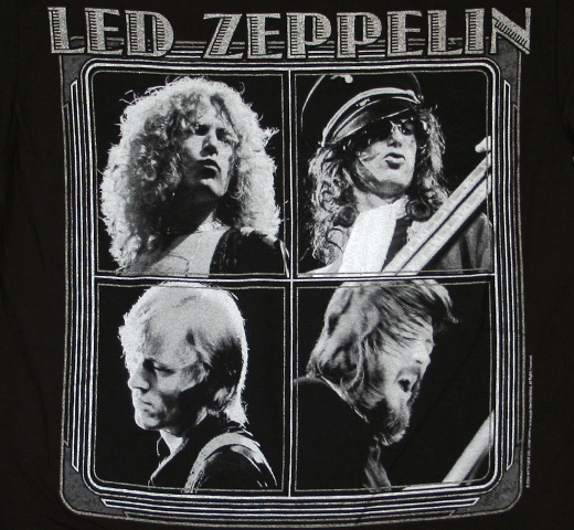 Led Zeppelin / North American Tour 1973 Tee
