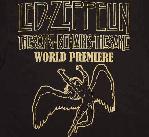 Led Zeppelin / The Song Remains the Same Tee 2 (Black)