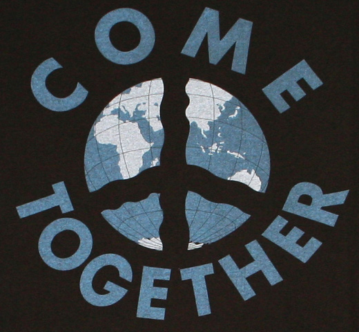 【Worn Free】 John Lennon / Come Together Tee (Black)