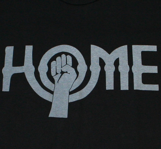 【Worn Free】 John Lennon / Home Tee (Black)