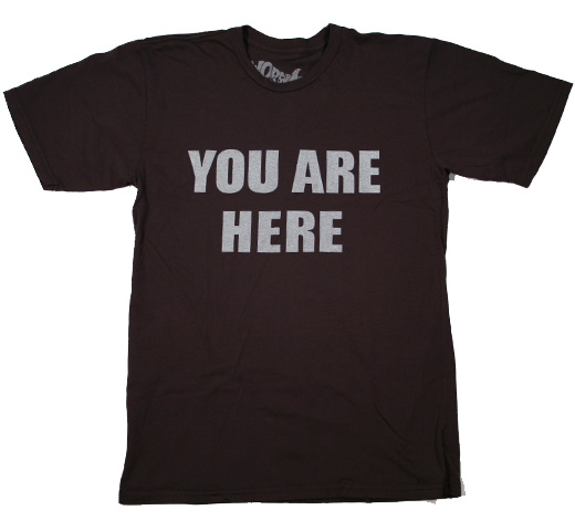 【Worn Free】 John Lennon / You Are Here Tee (Black)