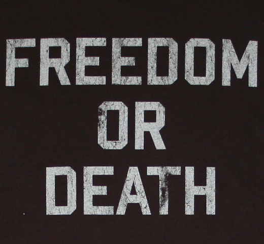 【Worn Free】 Lester Bangs / Freedom or Death Tee