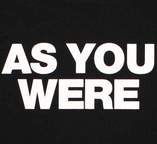 Liam Gallagher / As You Were Tee (Black)