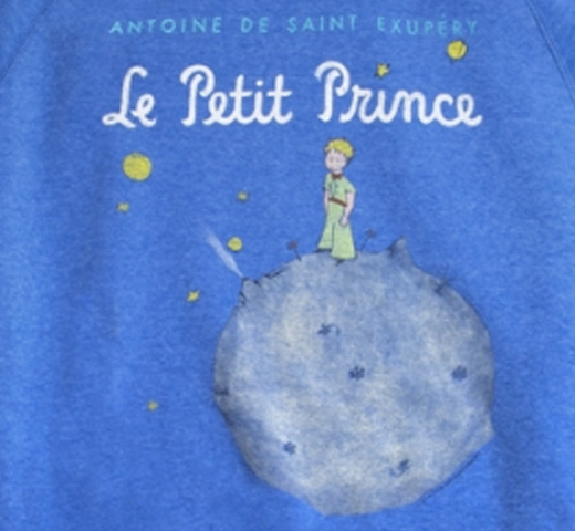 【Out of Print】 Saint-Exupéry / Le Petit Prince Fleece (Royal)