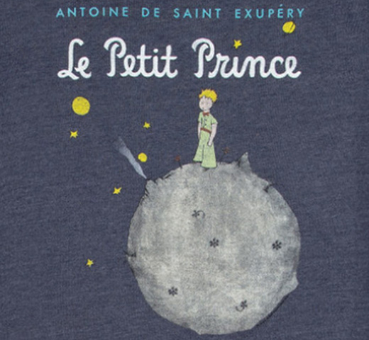 【Out of Print】 Saint-Exupéry / Le Petit Prince Sweatshirt (Navy)