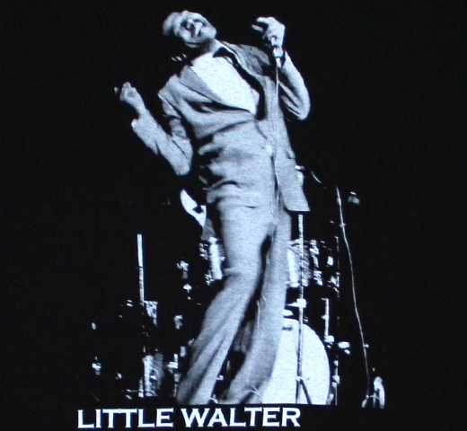 Little Walter / At the Mic Tee (Black)