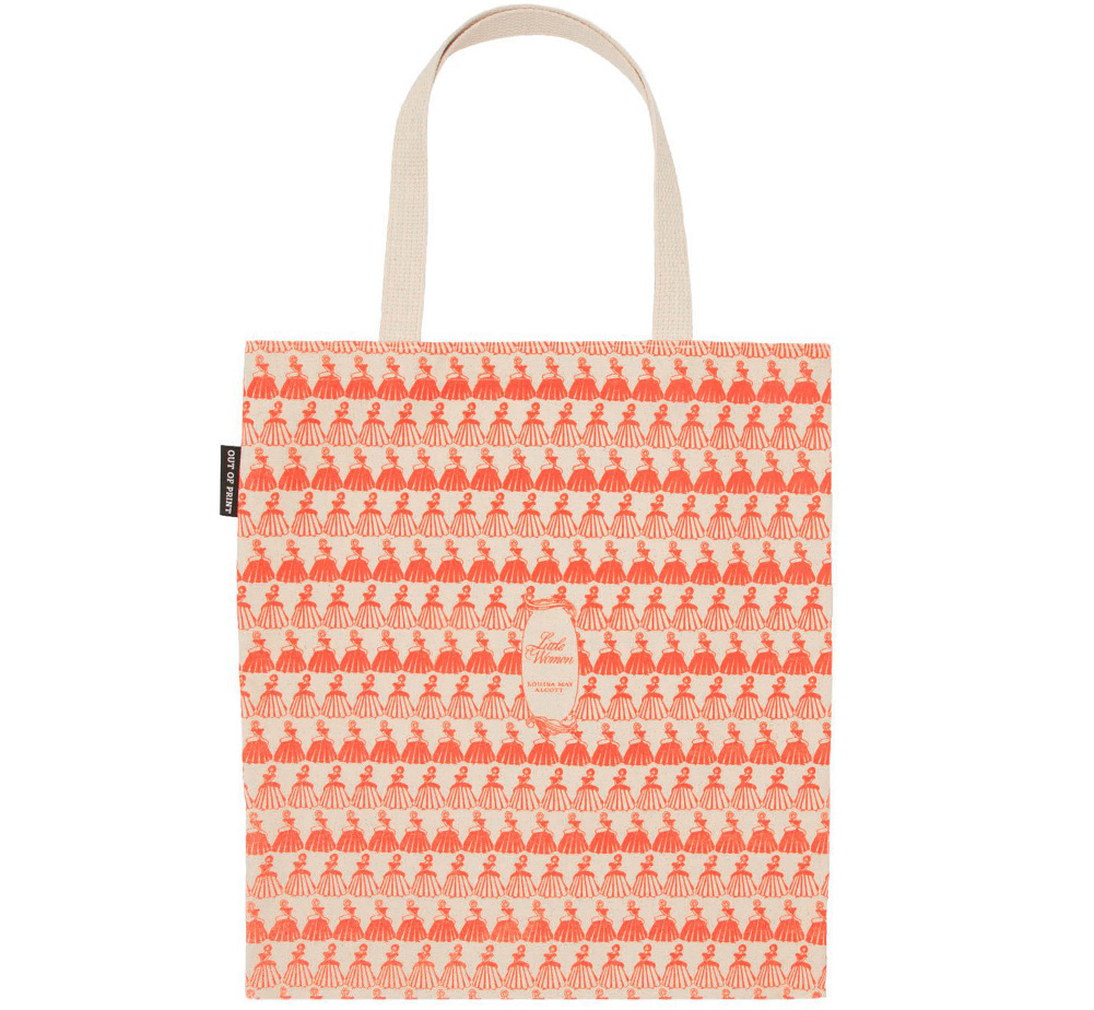 [Out of Print] Louisa May Alcott / Little Women Tote Bag