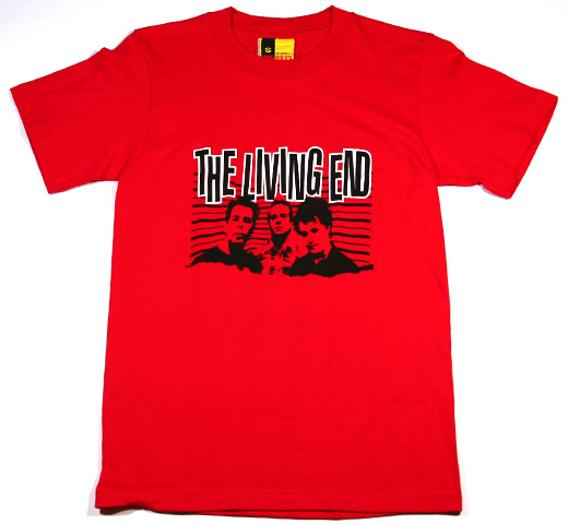 The Living End / Modern Artillery Tee (Red)