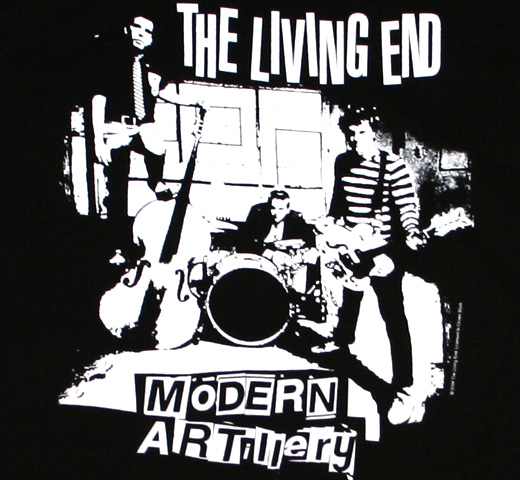 The Living End / Modern Artillery Tee (Black)