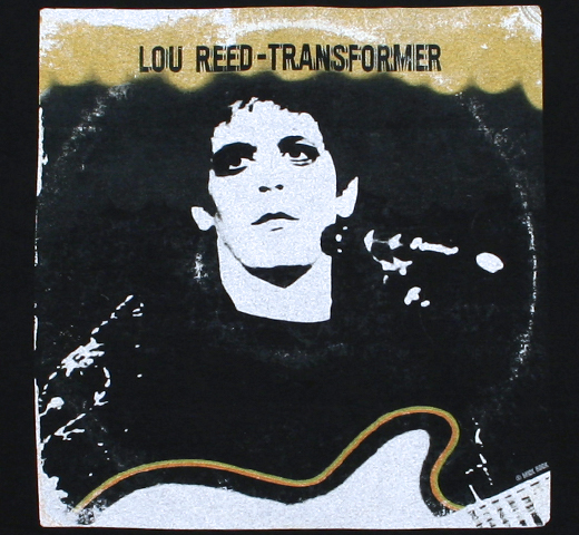 Lou Reed / Transformer Vintage Cover Tee (Black)