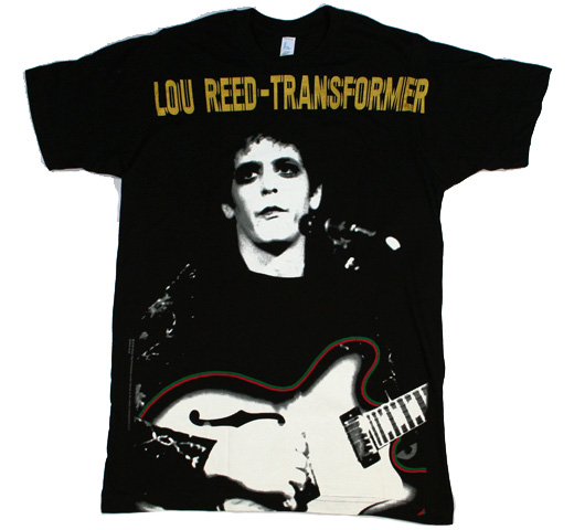 Lou Reed / Transformer Big Print Tee
