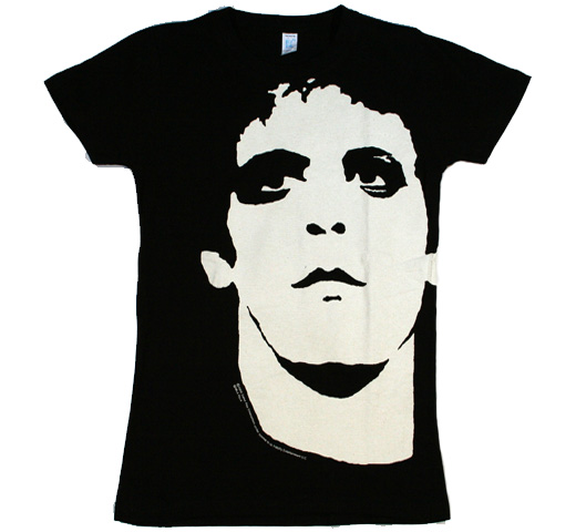 Lou Reed / Transformer Big Print Tee 2 (Womens)