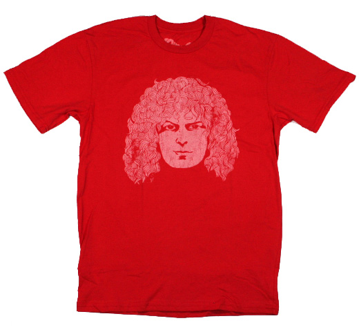 【Worn Free】 Marc Bolan / Bolan Face Tee (Red)