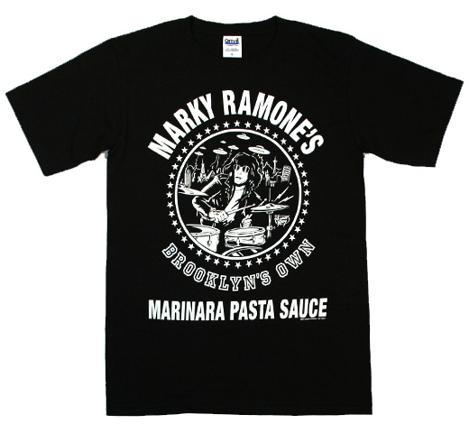 Marky Ramone / Brooklyn's Own Marinara Pasta Sauce Tee (Black)