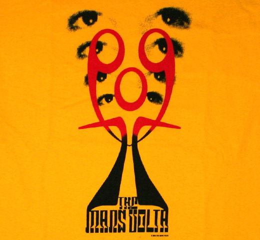 The Mars Volta / Icon Tee (Yellow)