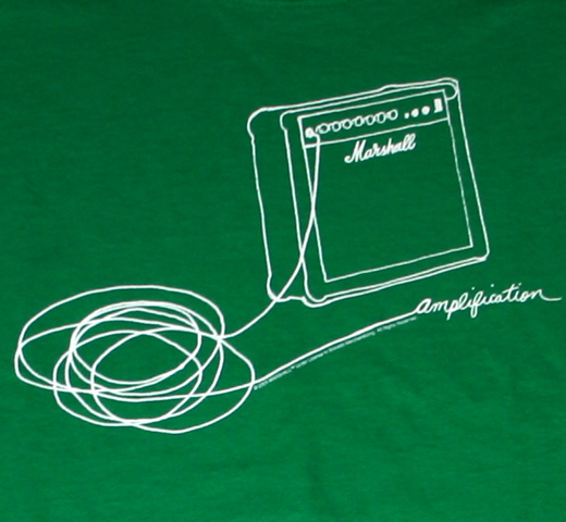 Marshall Amplification Tee
